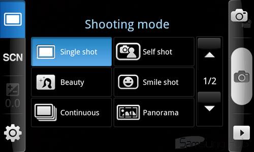камера Samsung Galaxy S