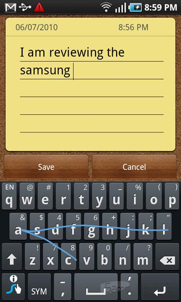 клавиатура Samsung Galaxy S