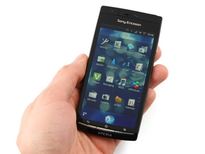 Sony Ericsson Xperia Arc foto