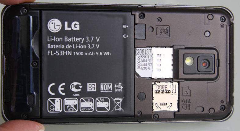 lg optimus 2x battery