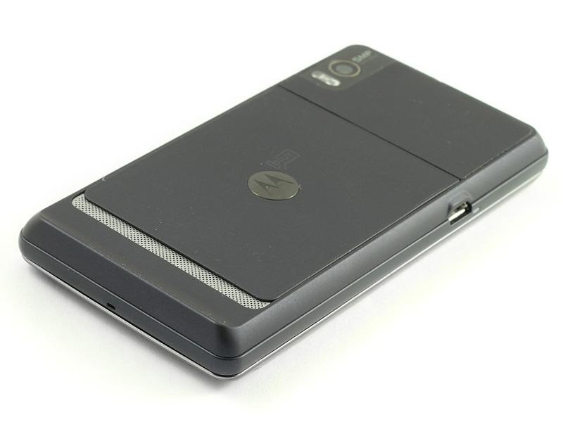 Motorola MILESTONE 2 back