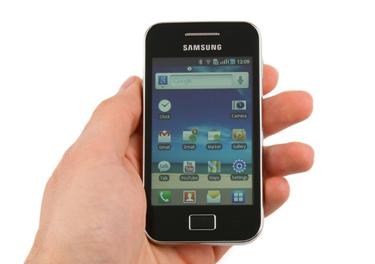 design Samsung Galaxy Ace