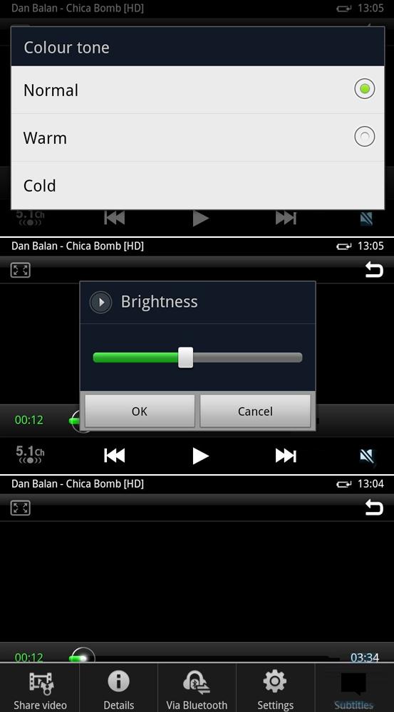 Видеоплеер Samsung Galaxy S II
