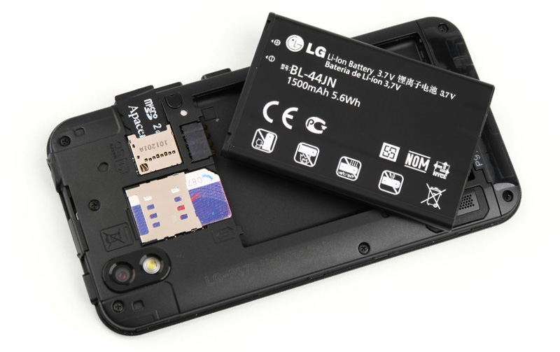 Батарея LG Optimus Black