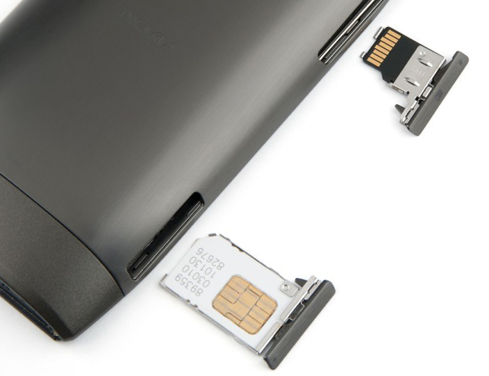 Разъемы Nokia X7