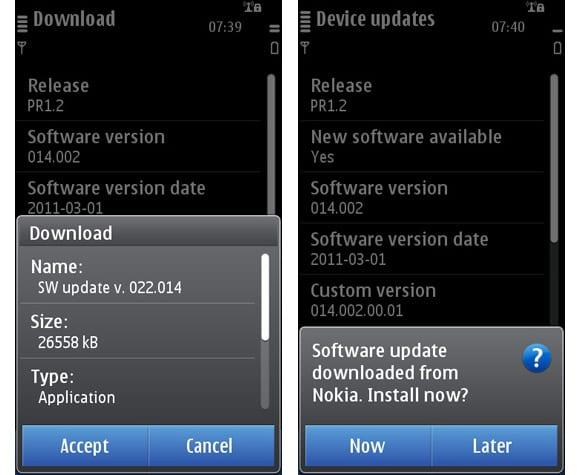Symbian Anna на Nokia C7