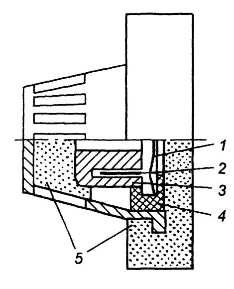 Конструкция наушника открытого типа