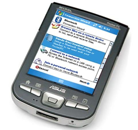 Настройка работы КПК и мобильного телефона