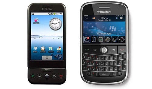 LG против Blackberry