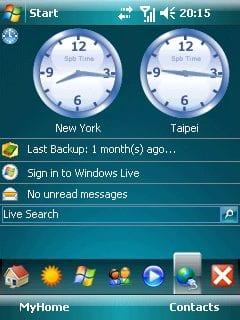 Интерфейс Pocket PC