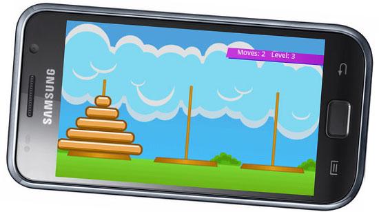 WAP-игра Hanoi Towers