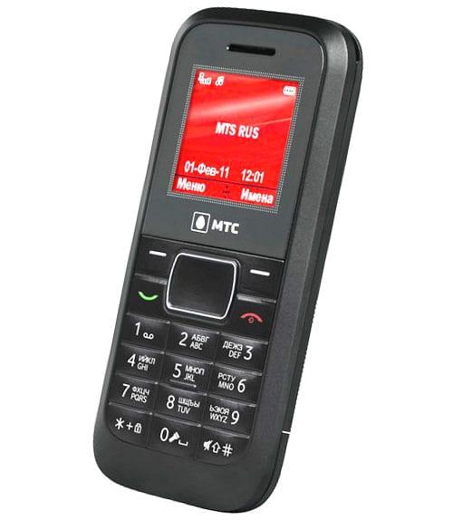 Бюджетный телефон МТС