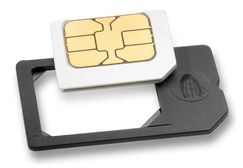 Комплект предварительной оплаты сотовой связи