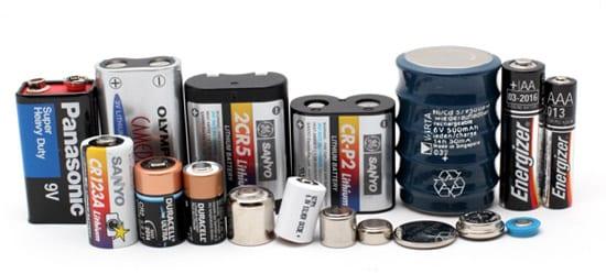 Различные типы аккумуляторов