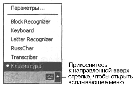 Выберите клавиатуру в качестве метода ввода текста