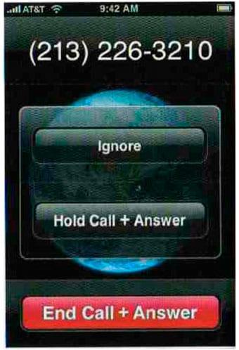 Call Waiting (Ожидание вызова)