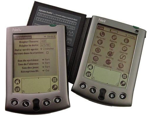 Карманные компьютеры серии Palm V