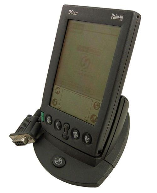 Внешний вид КПК Palm III