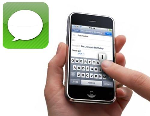 Текстовые сообщения SMS на iPhone