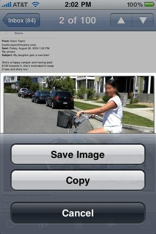 Сохранение изображений из почтовогого сообщения
