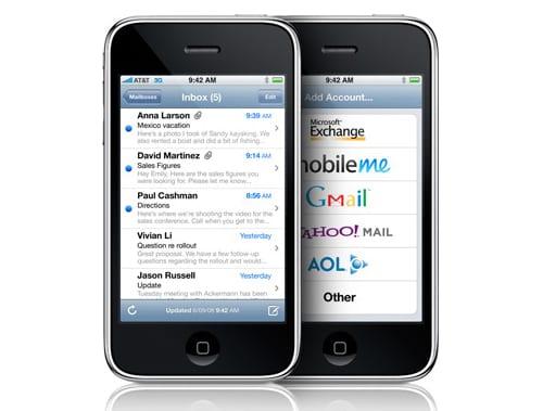 Электронная почта в iPhone