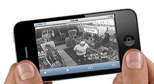 Воспроизведение потокового видео через iPhone