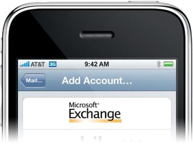 iPhone теперь работает с Exchange ActiveSync