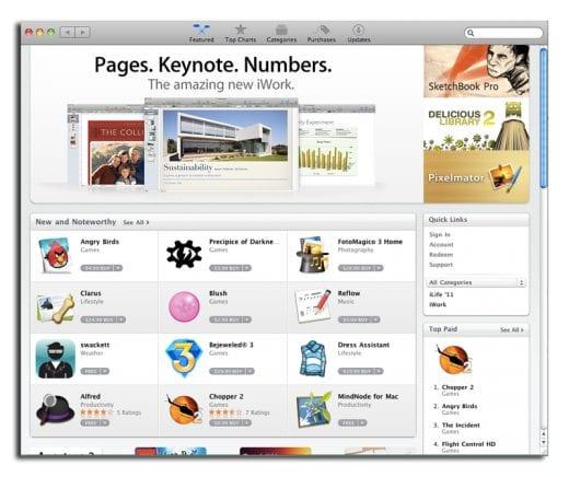 iPhone Арр Store на Mac