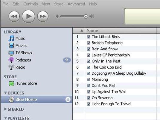 Перенос музыки с компакт-диска