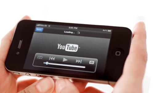 Приложение YouTube на iPhone
