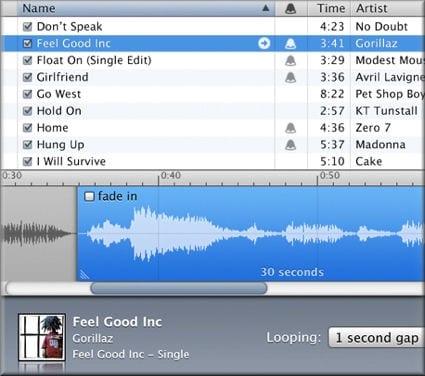 Создание рингтонов на iTunes