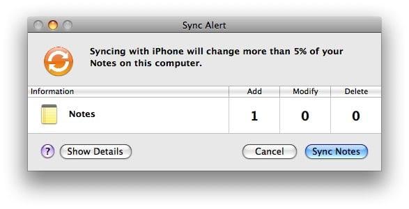 iTunes обнаружила конфликт синхронизации