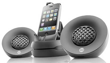 DLO iPhone Speakers.