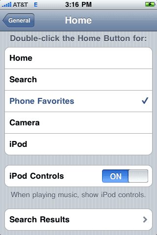 Home Button (кнопка Home)