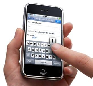 Проблемы с электронной почтой на iphone