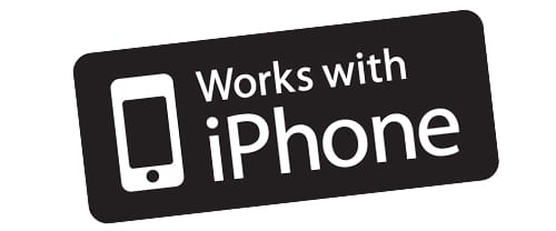 логотип «Works with iPhone»