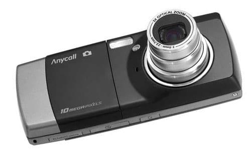 Мобильный телефон с видеокамерой