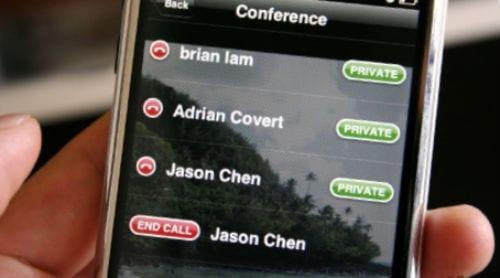 конференц-связь на iPhone