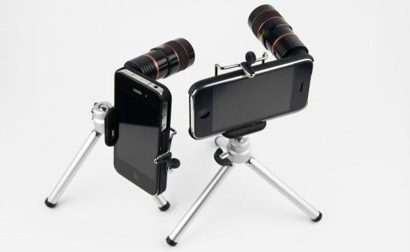 использование камеры iPhone