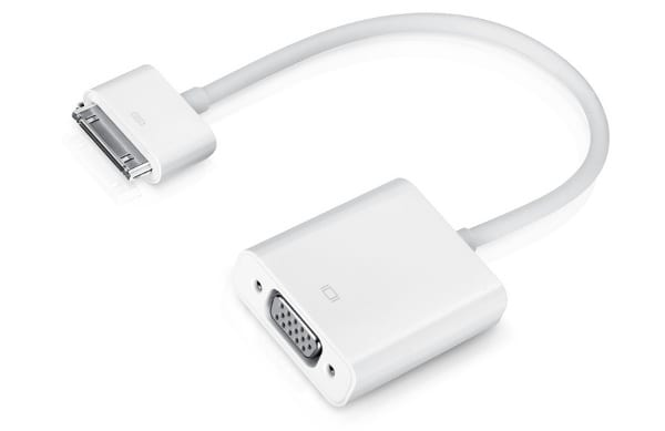 Адаптер Dock Connector to VGA от Apple