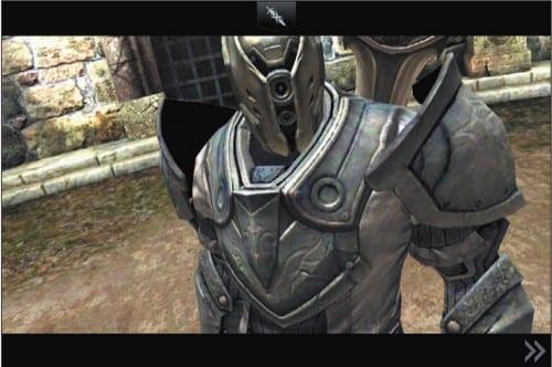 Фрагмент игры Infinity Blade II