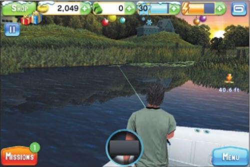 Симулятор рыбалки Fishing Kings на iPhone