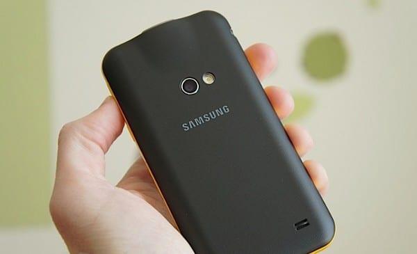 Samsung Galaxy Beam сзади