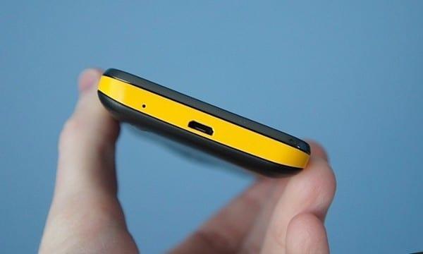 Нижняя часть Samsung Galaxy Beam