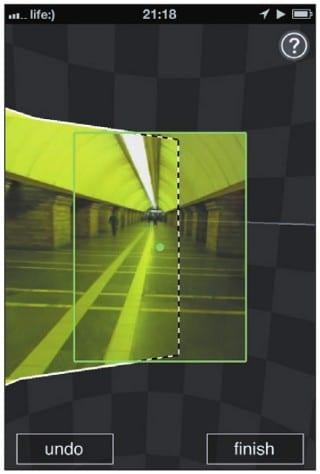 Процесс фотосъемки в Photosynth