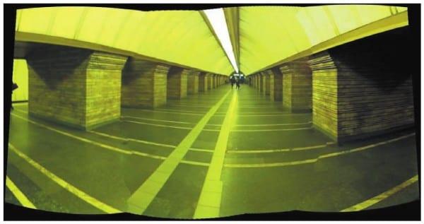 Отображение объемной панорамы на плоскости