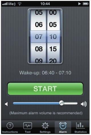 Запуск будильника