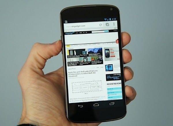 Живые фото Nexus 4