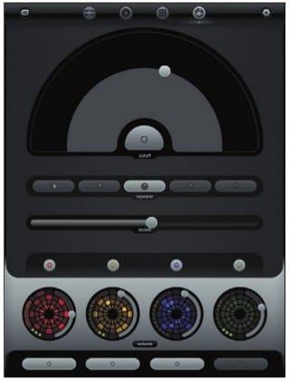 Режим применения звуковых эффектов в Loopseque