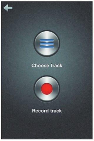 Выбор исходного трека для рингтона